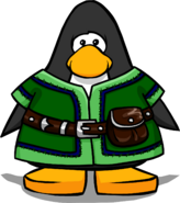 Green Tunic from a Player Card