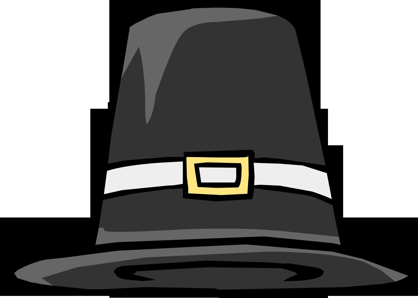 pilgrim hat clipart free - photo #25