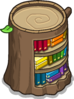 Stump Bookcase sprite 068