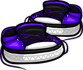 Untied Violet Sneakers icon