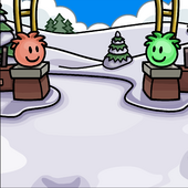 Puffle Park Background