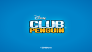 Club Penguin App Initial Screen