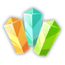 Collectible crystal single