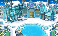 Frozen Party Town frozen