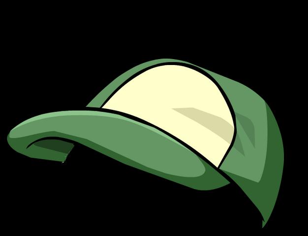 File:Green Baseball Cap4.png