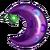 Purple berry icon