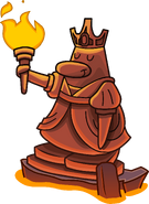 Knight's Quest 2 queen statue