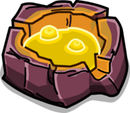 Golden Lava Puddle sprite 001