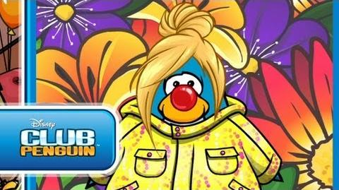 Do Something Funny for Money in Club Penguin for Red Nose Day in the UK! Official Club Penguin