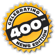 Club Penguin Times 400 Issue Logo