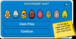 Easter Egg Hunt 2011 scavenger hunt