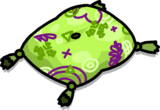 Blue Floor Cushion sprite 003