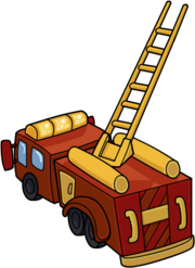 Firetruck for page Pj