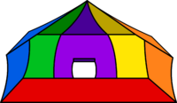 Circus Tent igloo icon ID 29