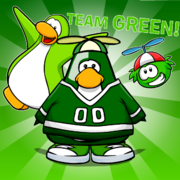 Team green game day outfit