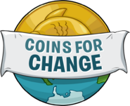 Coins for Change Logo 2012