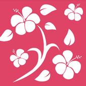 Pink Hawaiian Background photo