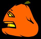 Sad Jack-O-Lantern sprite 003