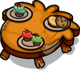 Rustic Puffle Table sprite 006