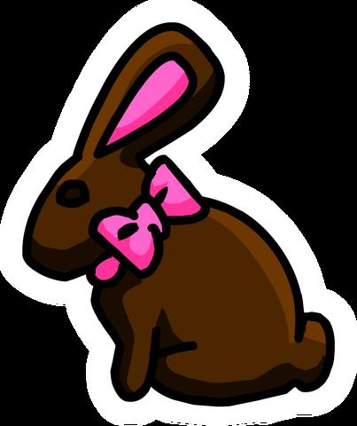 File:Chocolate Bunny Pin.PNG