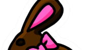 Chocolate Bunny Pin