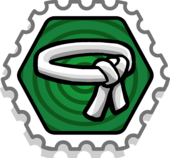 Grasshopper stamp