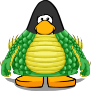 Swamp Monster Costume from a Player Card