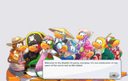 Waddle On Party login 1