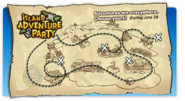 Island Adventure Party 2010 login screen map