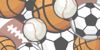 Sports Equipment Background