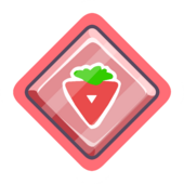 Red O'berry Pin icon