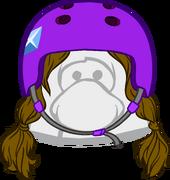 Brunette Skater Pigtails icon