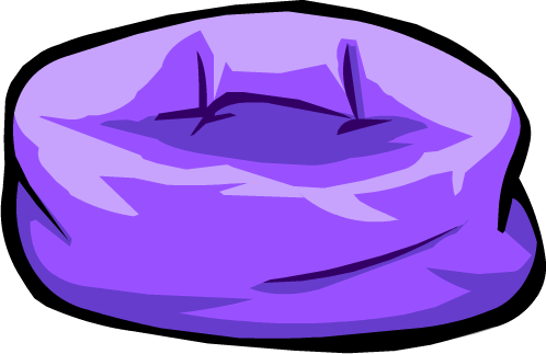 File:Purple Beanbag Chair.PNG