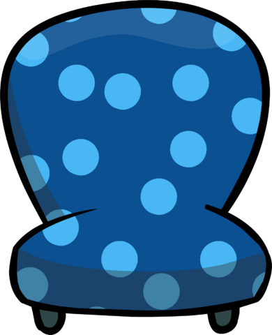 File:Custom Furniture (Blue Chair with Polka Dots).PNG