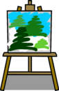 Easel sprite 002