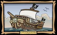 Captain's Quarters Migrator painting
