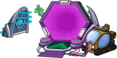 Future Party Time Portal
