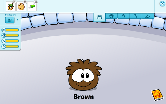 File:Brown Puffle caring card.png