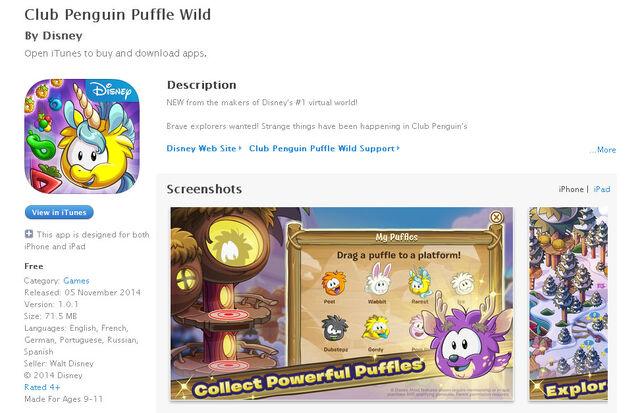 File:Puffle Wild in Itunes.jpg