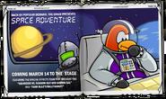 Space Adventure Advertisement