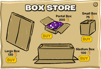 Box Store Catalog April Fools 2009