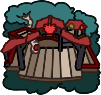 Red Puffle Tree House icon