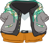Plaid Hoodie Outfit icon