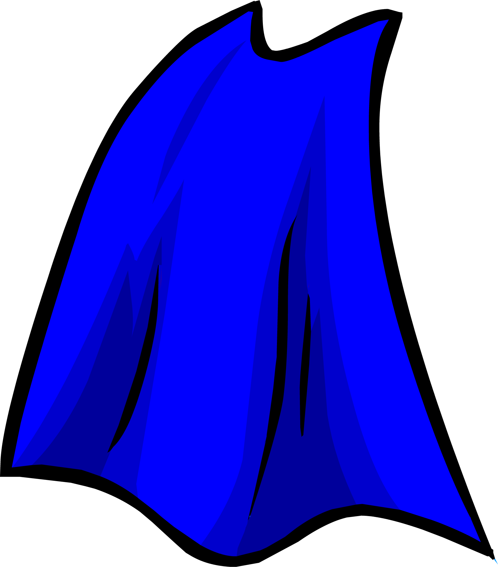 Blue Cape | Club Penguin Wiki | FANDOM powered by Wikia