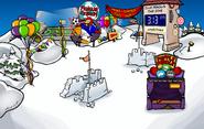 The Fair 2009 Snow Forts