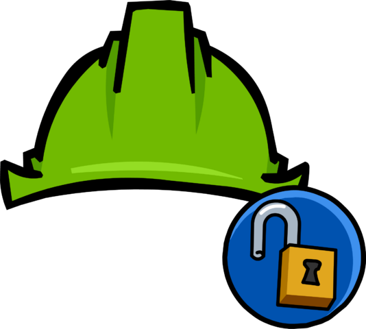 File:Green Hard Hat clothing icon ID 11133.png