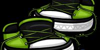 Green Untied Sneakers