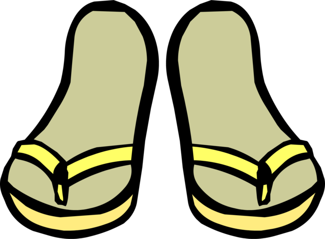 File:Yellow Sandals.PNG