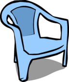 Blue Chair sprite 005