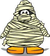 Mummy Costume from a Player Card